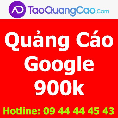 Quảng cáo Google 900k