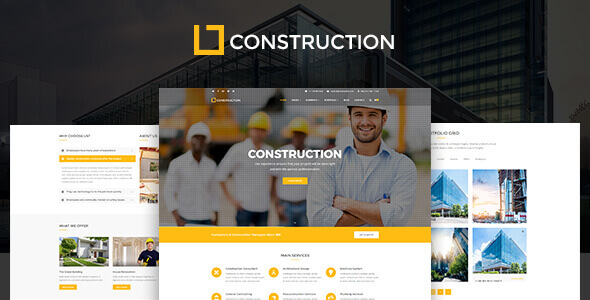 Website công ty xây dựng